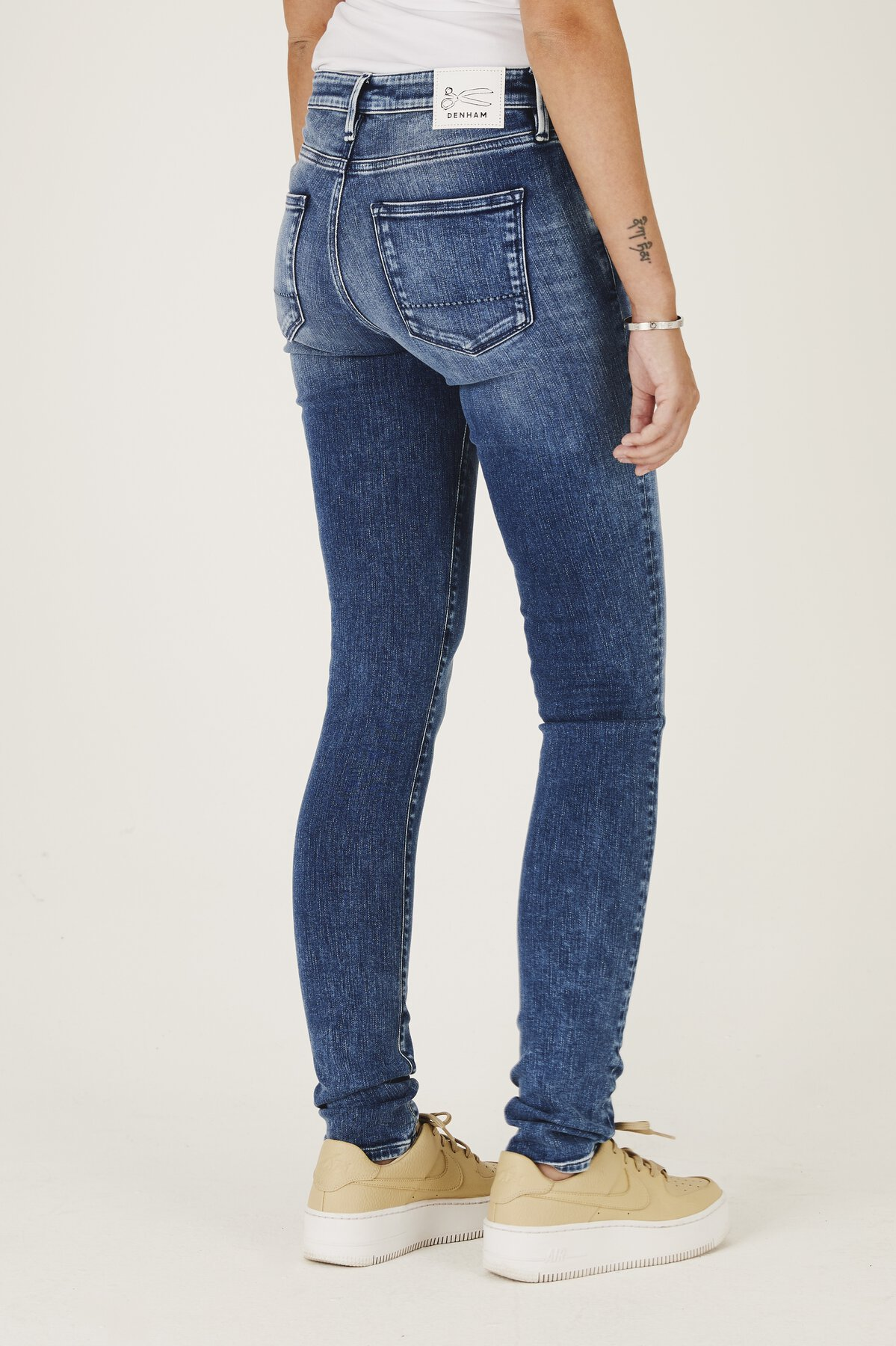 Sharp - Skinny Tight Fit Jeans - Back