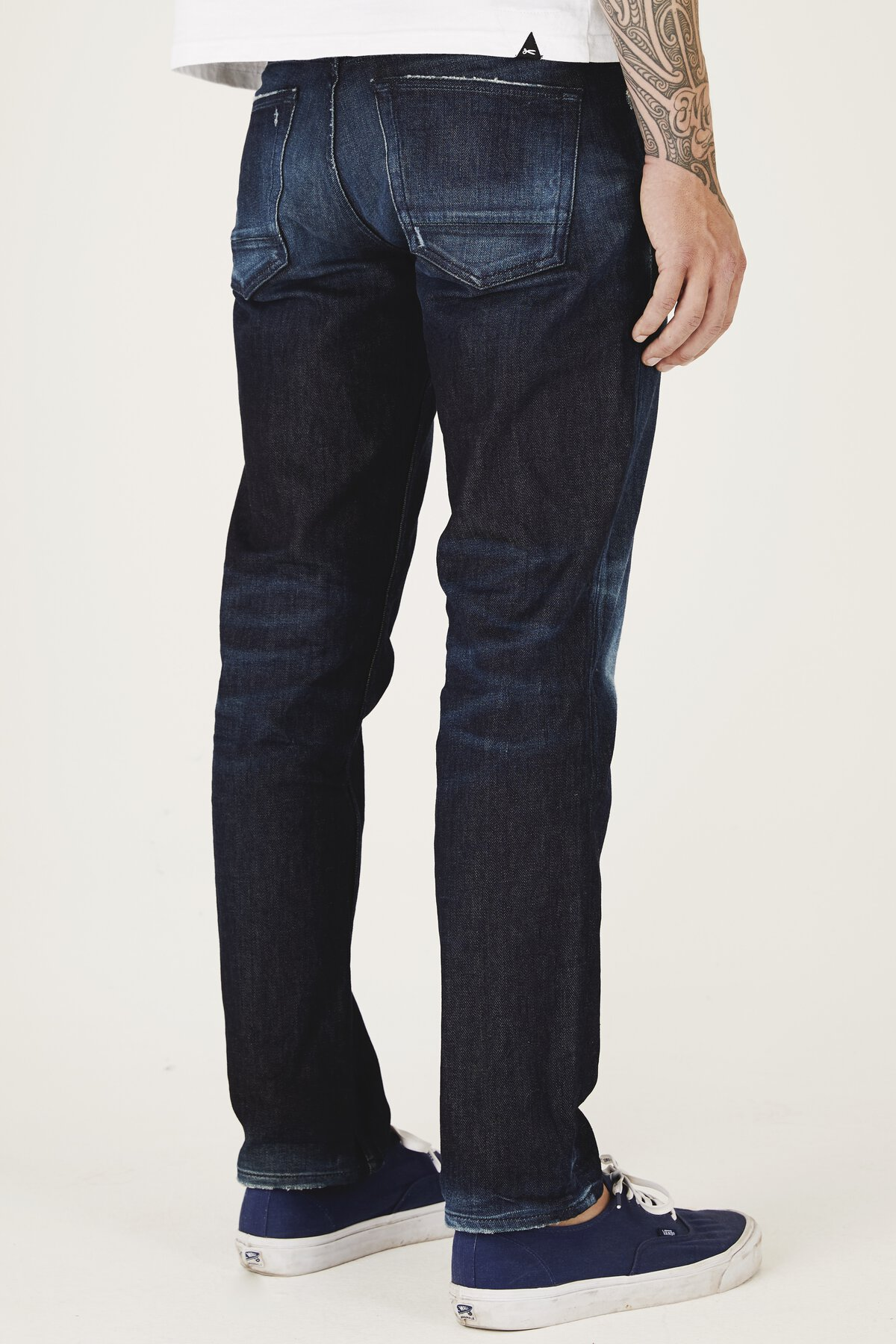 Forge - Relaxed Fit Jeans - Back