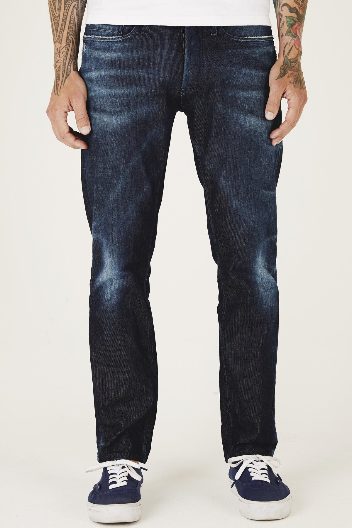 Forge - Relaxed Fit Jeans - Front