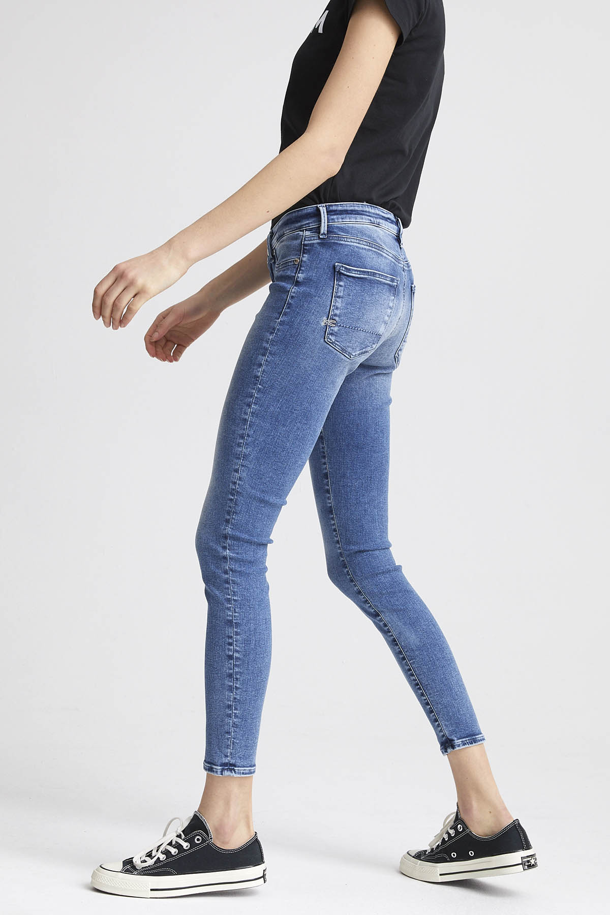 Spray - Super Tight Fit Jeans - Back