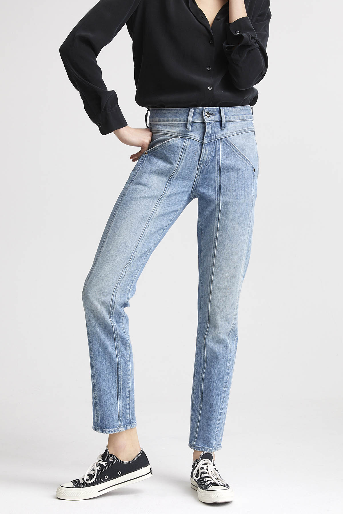 Whisper - Straight Leg Fit Jeans - Front
