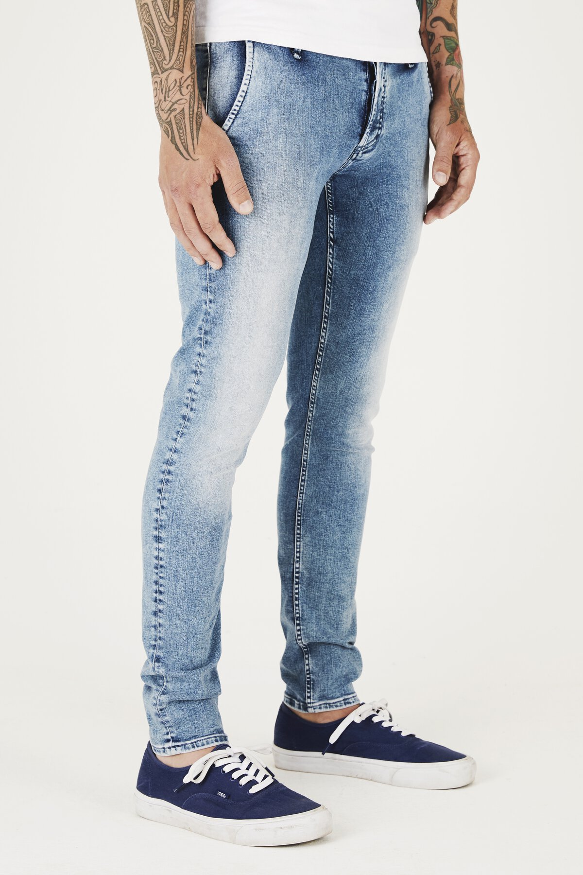 York - Slim Tapered Fit Jeans - Back