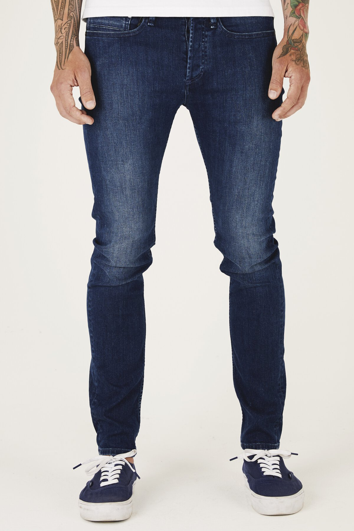 Bolt - Skinny Fit Jeans - Front