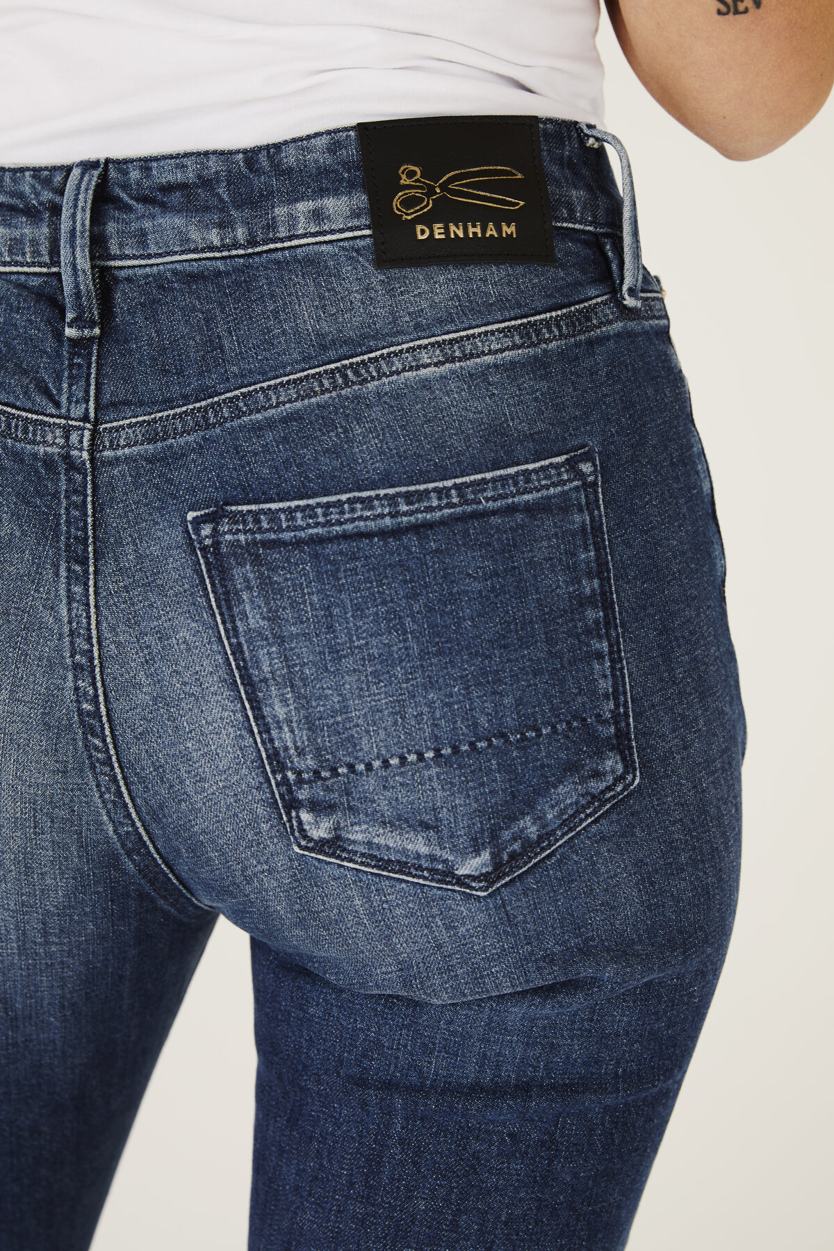 Heidi - High-Rise Straight Fit Jeans - Detail