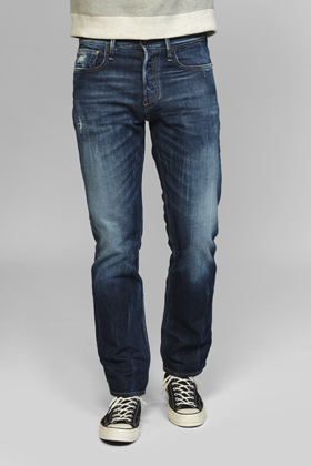 Blade Straight Fit Jeans - GREI