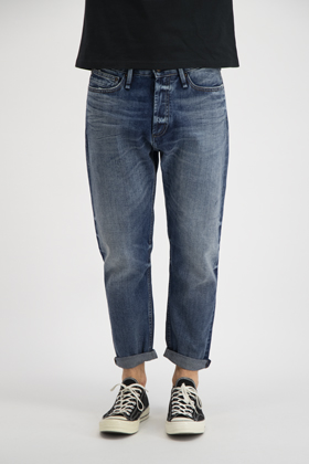 Crop Loose Carrot Fit Jeans - LLH