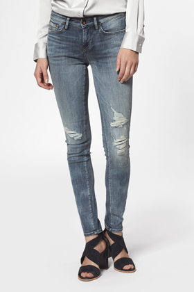 Sharp Skinny Fit Jeans - GRMAD