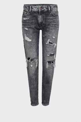 Monroe Girlfriend Tapered Fit Jeans - GR10YB