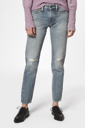Razor Girl Slim Fit Jeans - GRWF