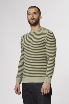 Tab Stripe Knit - CFJS