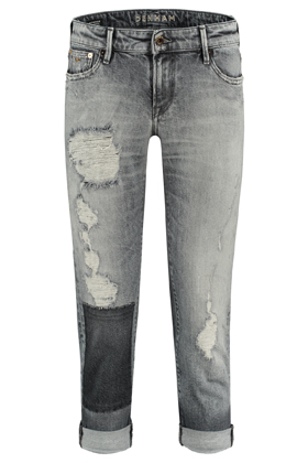 Monroe Girlfriend Tapered Fit Jeans - GRBC