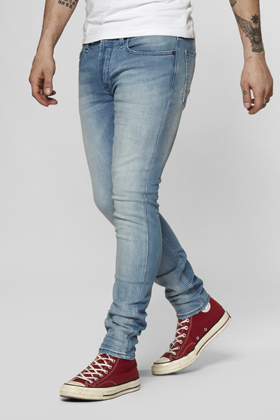 Bolt Skinny Fit Jeans - CORAL