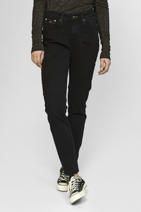 Heidi High Rise Straight Fit Jeans - GRBT