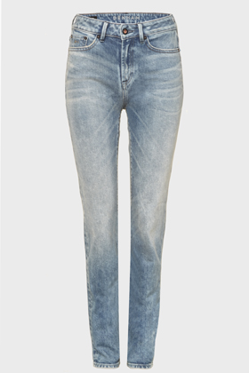 Heidi High Rise Straight Fit Jeans - MU