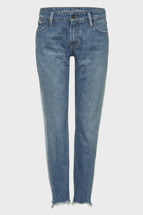 Monroe Girlfriend Tapered Fit Jeans - JDCH