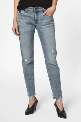 Monroe Girlfriend Tapered Fit Jeans - JDCFB