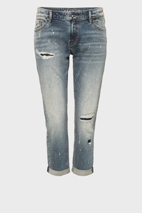 Monroe Girlfriend Tapered Fit Jeans - VPRR
