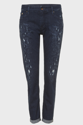 Monroe Girlfriend Tapered Fit Jeans - GRIR
