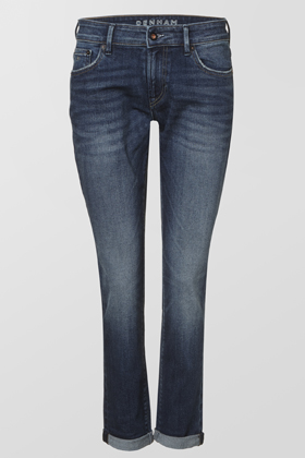 Monroe Girlfriend Tapered Fit Jeans - PS