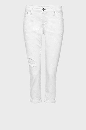 Monroe Girlfriend Tapered Fit Jeans - GRER