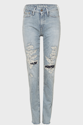Heidi High Rise Straight Fit Jeans - GRVR