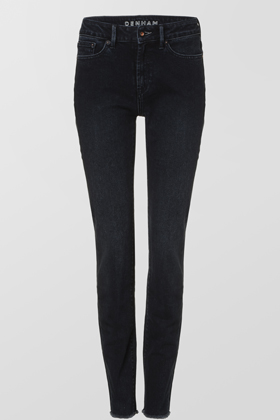 Heidi High Rise Straight Fit Jeans - ASPEN