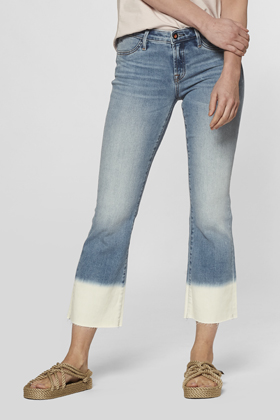 Farrah Cropped Flare Fit Jeans - MD