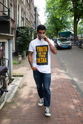 DENHAM x Anthony Burrill T-Shirt - HCJ
