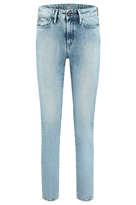 Heidi High Rise Straight Fit Jeans - 80S