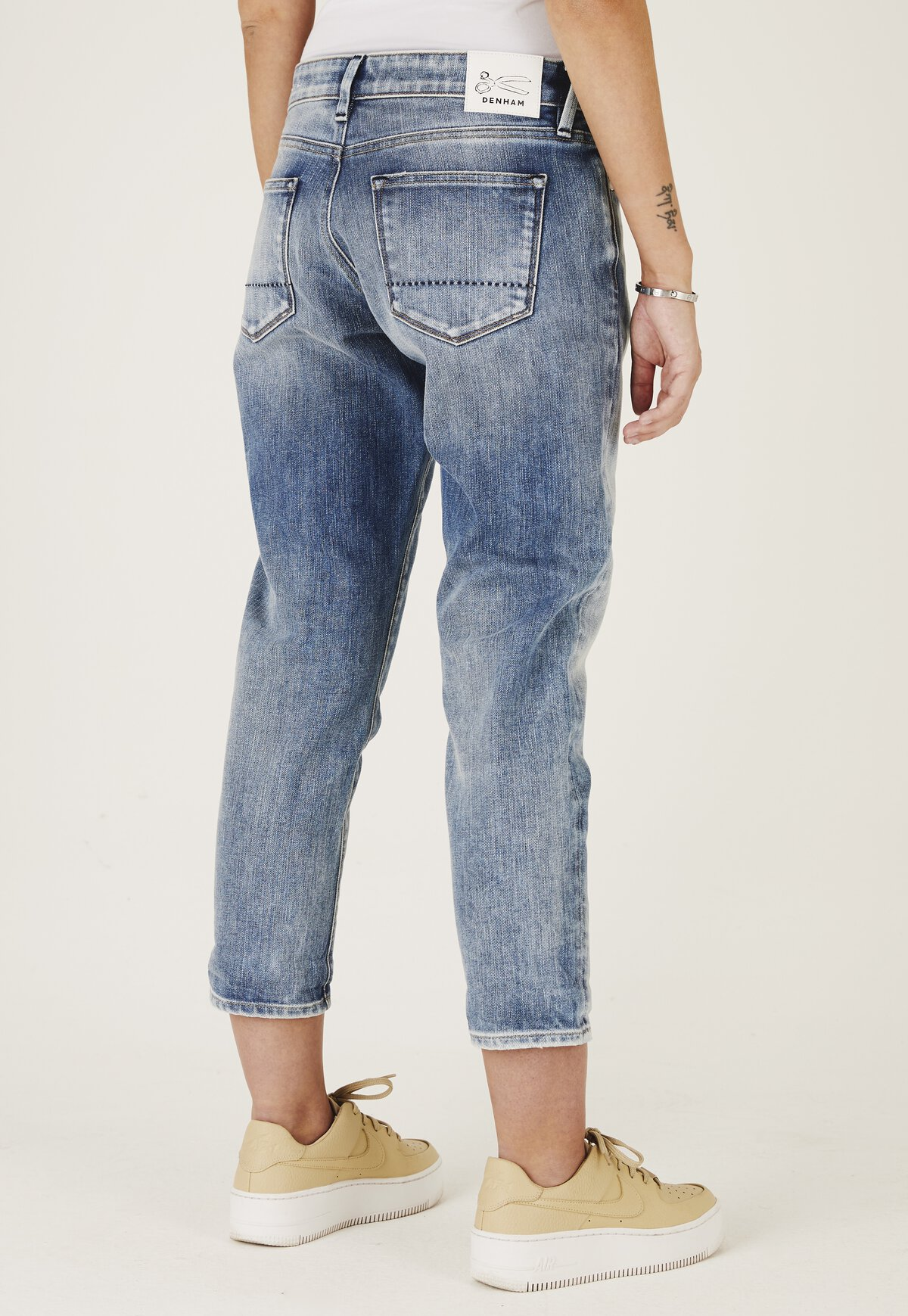 Monroe - Girlfriend Fit Jeans - Back