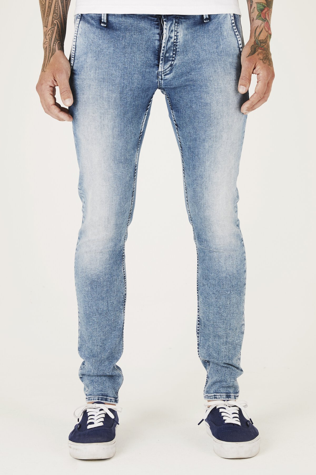 York - Slim Tapered Fit Jeans - Front