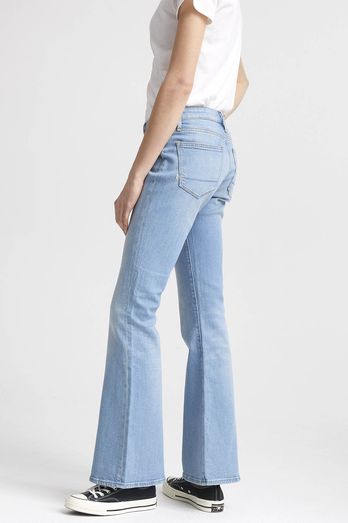 Farrah - Flared Fit Jeans - Back